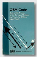 Carriage of Cargoes & Persons by OSV ( OSV Code), 2000 Edition